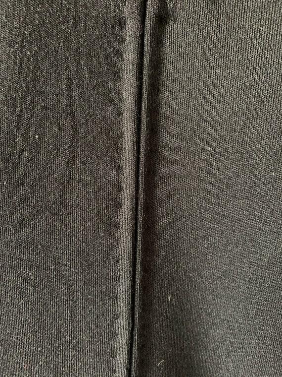 Pauline Trigere Black Wool Dress - image 7