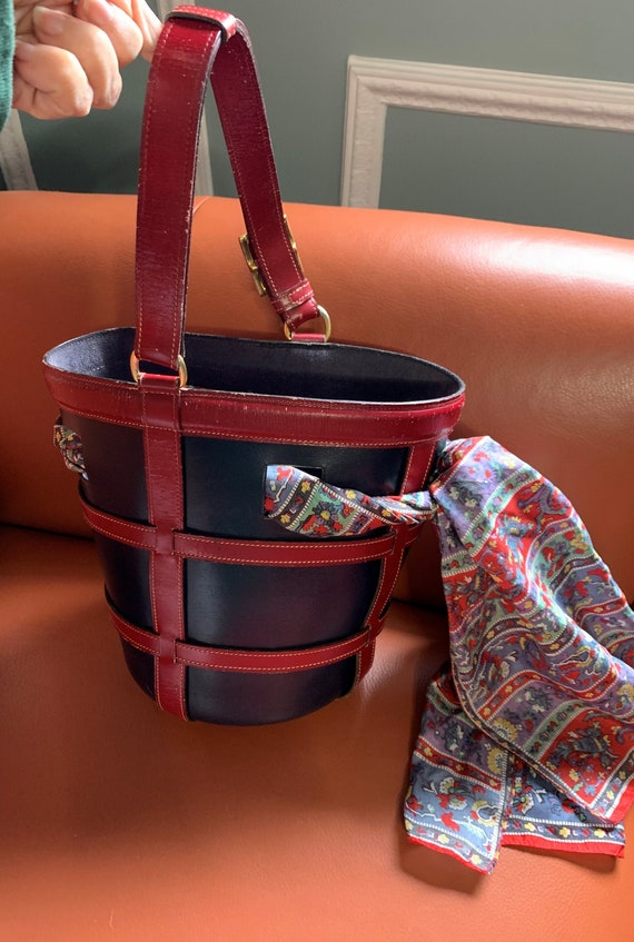 Authenic Hermes Bucket Feed Bag Rare