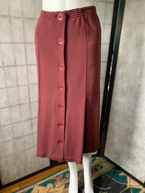 Vintage Missoni wool skirt