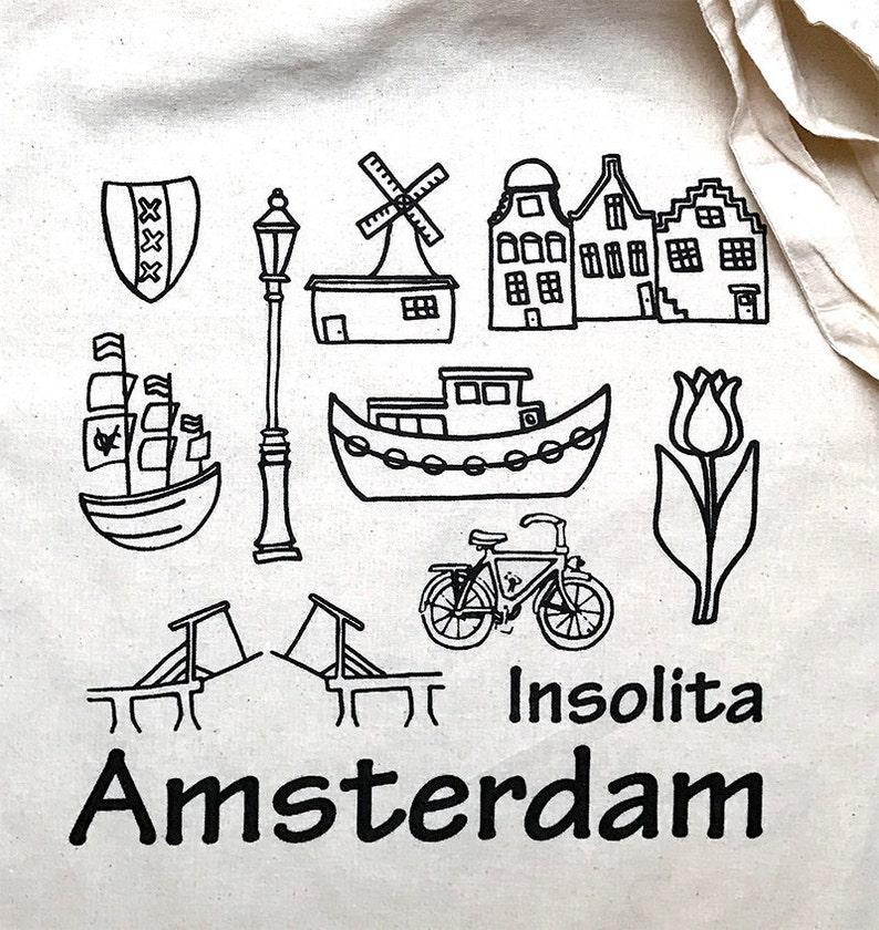 IA Bag-Linen bag-Amsterdam image 0