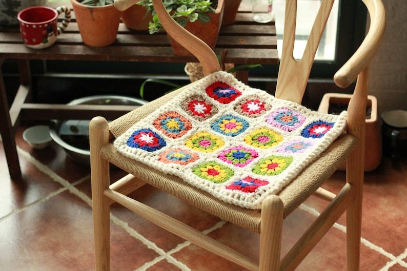 Nonna quadrati handmade retrò seat pad cuscino da etsy