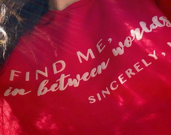 Find me, In Between Worlds Pullover sweater