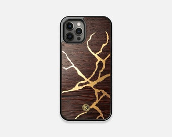 Restore - Real Wood iPhone Case - iPhone 12 Pro/Max/Mini, 11/11 Pro/Max, XR, XS Max, X/XS, 8/7, 8/7 Plus - Made in Canada by Keyway Designs
