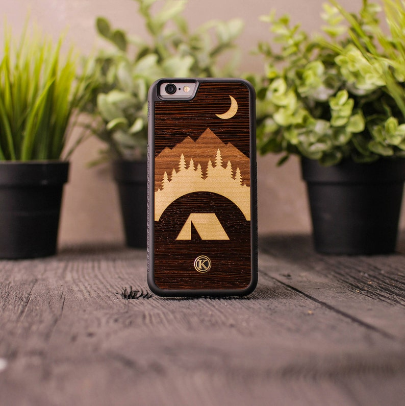 the best attitude c8606 0309c Woodland - Real Wood iPhone Case - iPhone XR, XS Max, X/Xs, 8/7, 8/7 Plus,  6s, 6s Plus, SE/5s - Made in Canada by Keyway Designs