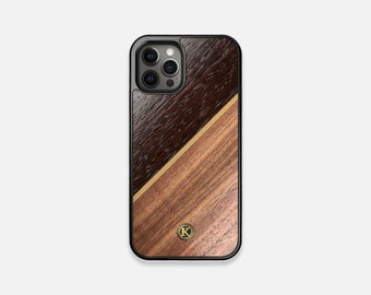 Alium - Real Wood iPhone Case - iPhone 12 Pro/Max/Mini, 11/11 Pro/Max, XR, XS Max, X/XS, 8/7, 8/7 Plus - Made in Canada by Keyway Designs