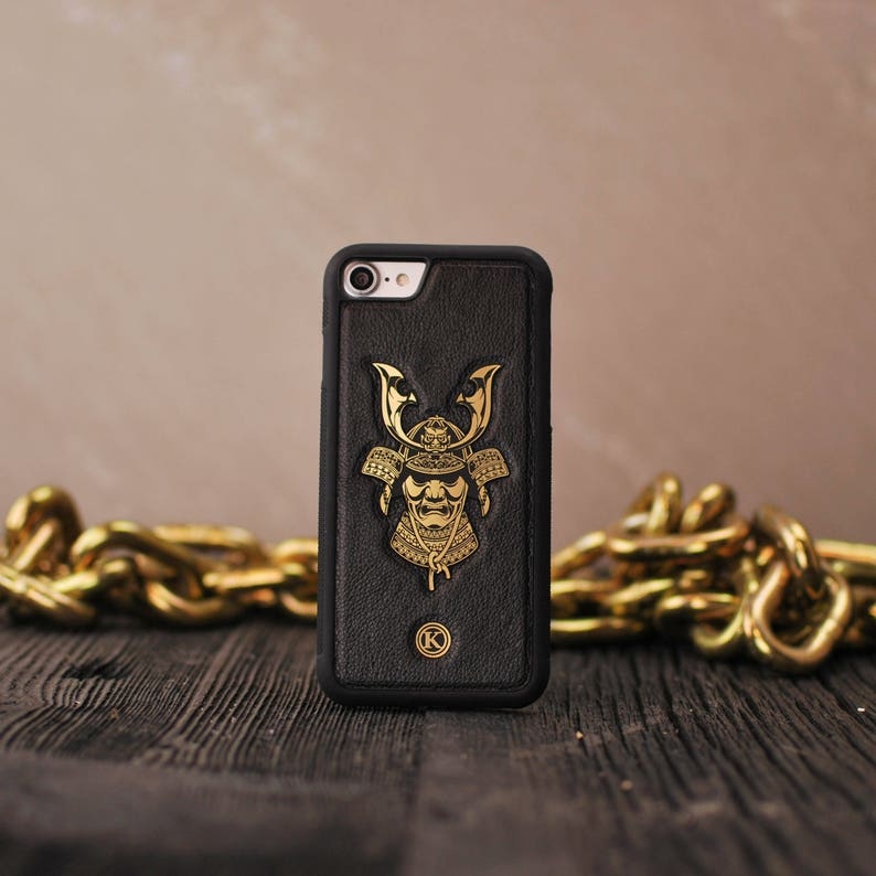 dff95ea70dd Samurai Real Leather Phone Case iPhone XR XS Max X Xs