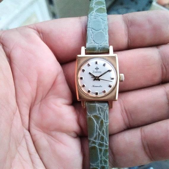 Zodiac Hermatice, Rare Vintage Watch, SwissmadeWat