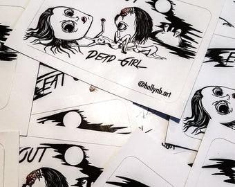 Eat Out DeadGirl Sticker