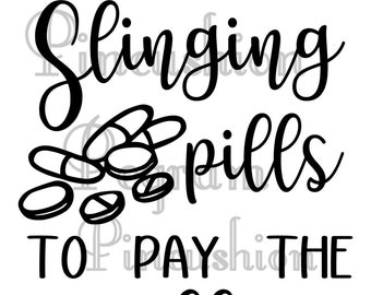 Slinging pills to pay the bills digital file