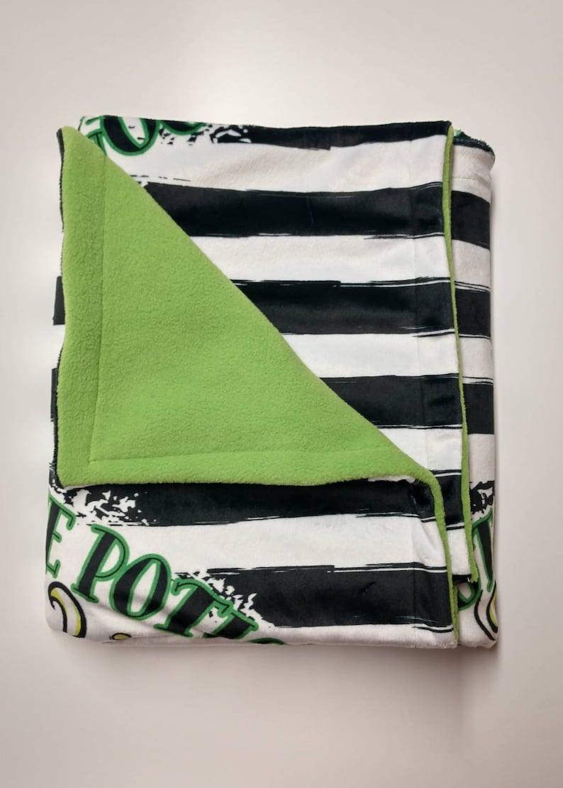 Harry Potter Baby Blanket Hand made blanket Toddler Blanket