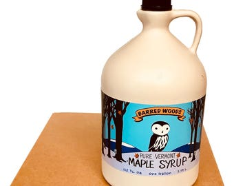 Bulk Maple Syrup - Four 1 Gallon Jugs of Pure Vermont Maple Syrup - Free Shipping