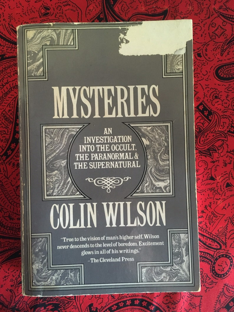 Image result for colin wilson mysteries