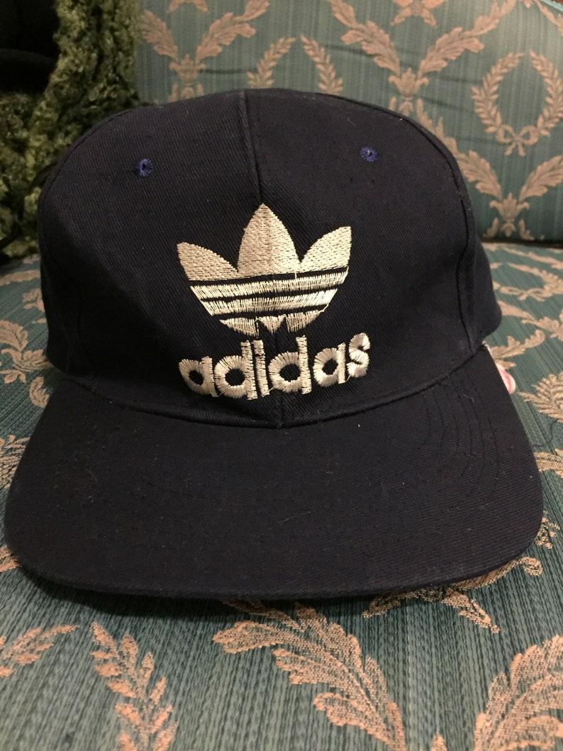 d0c5b2bc Vintage Adidas Snapback Cap   Etsy