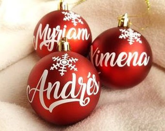 Personalized Christmas ball