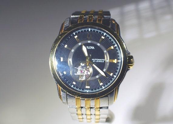 Bulova Men's Skeleton Wrist Watch