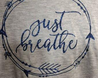 Just breathe laryngomalacia awareness long sleeve