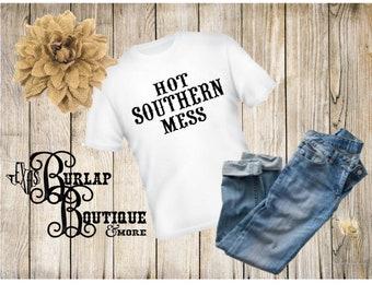 Hot Southern Mess T-shirt tshirt shirt Sizes S - 5XL available Several colors