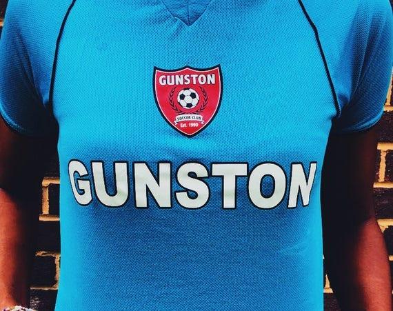 GUNSTON BLUE SOCCER Jersey