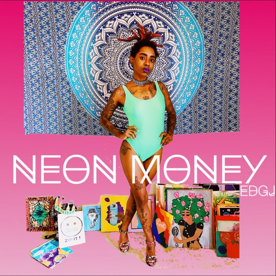 NEON MONEY GREEN Bathing Suit