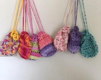 Crocheted Mini Pouch