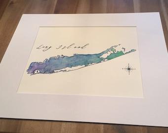 Long Island Custom Watercolor Painting