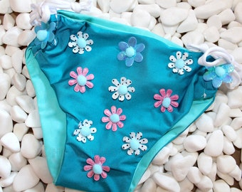 children's bathing suit for a girl - hand made