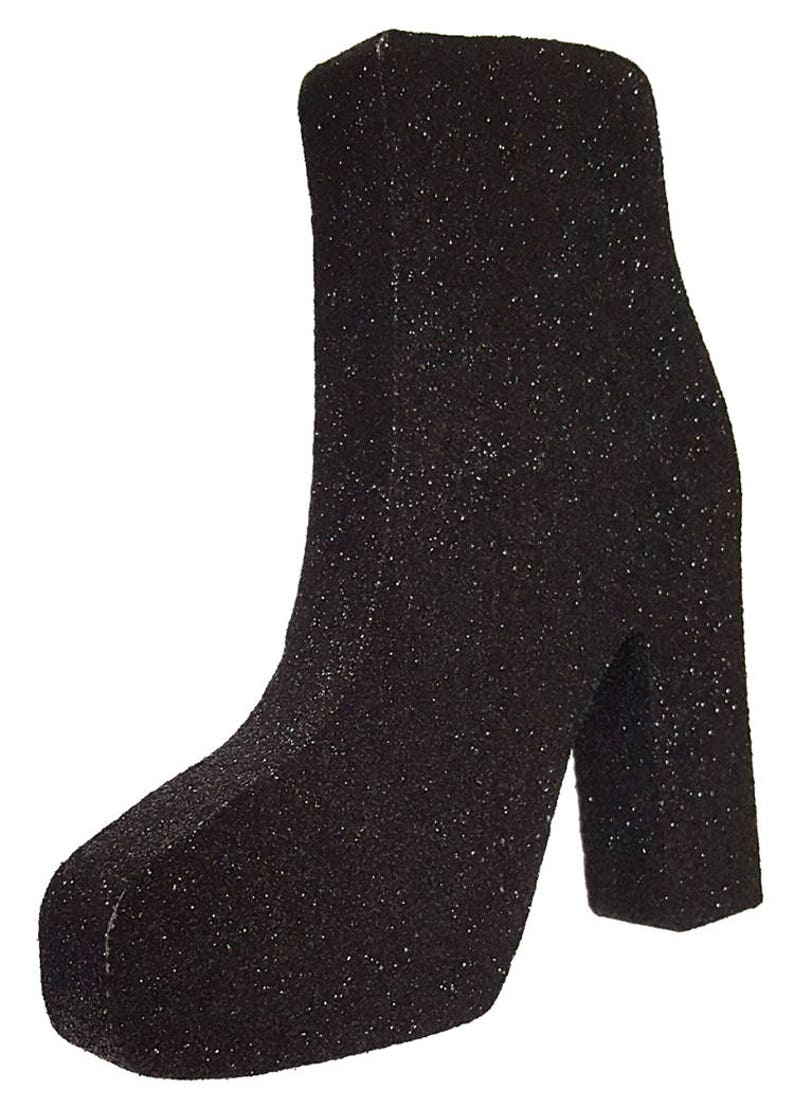 55f962190fa46 Styrofoam Stiletto High Heel Boot Cut  Out,centerpiece,shopping,shoes,boots,styrofoam shapes,boot cut  outs,styrofoam,stiletto boot cut out