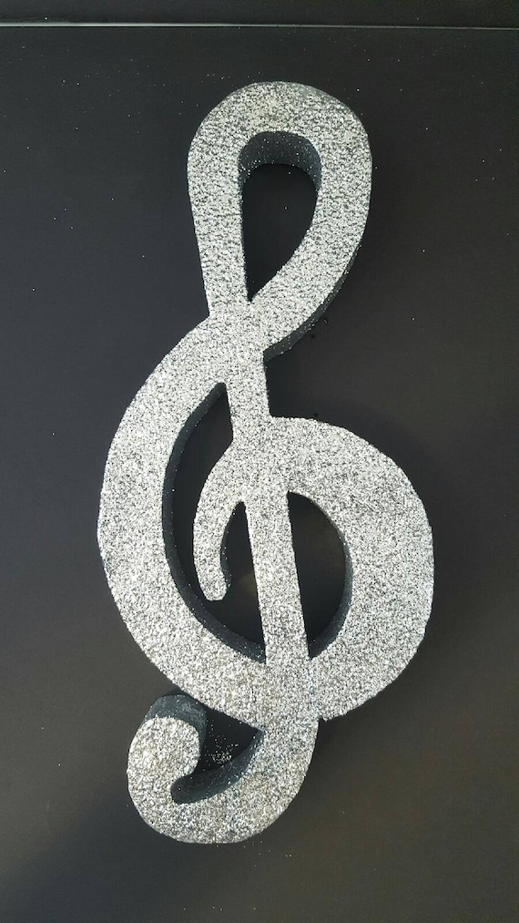 Strange Styrofoam Musical Clef Cut Out Centerpieces G Clef Music Note Music Decorations Styrofoam Shapes Music Clef Cut Outs Styrofoam Interior Design Ideas Ghosoteloinfo