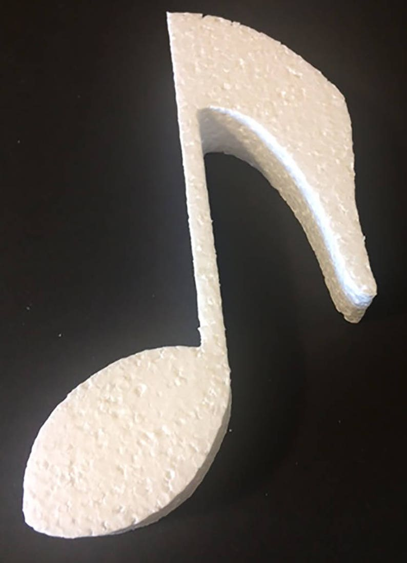 Stupendous Styrofoam Musical Note Cut Out Centerpieces Music Notes Music Decorations Styrofoam Shapes Music Note Cut Outs Styrofoam Best Image Libraries Weasiibadanjobscom