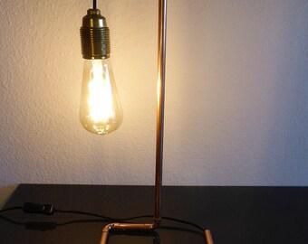 Lampe de table rotative «Cuivre»