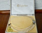Elizabethan Necklace, Elizabethan Pearls, Vintage Necklace, Vintage Pearls, Pearl Necklace, Necklace, Vintage Jewelry, Vintage Jewellery