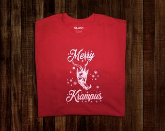 Merry Krampus Tee