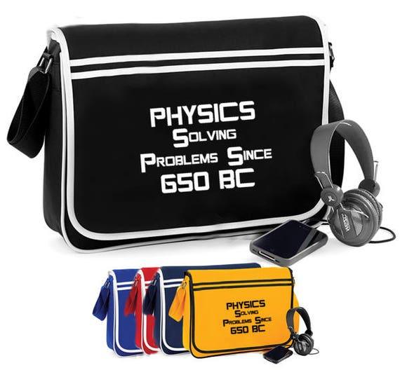 Physique Soliving problèmes 650bc - sac à bandoulière rétro
