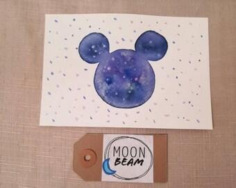 Disney inspired Postcard