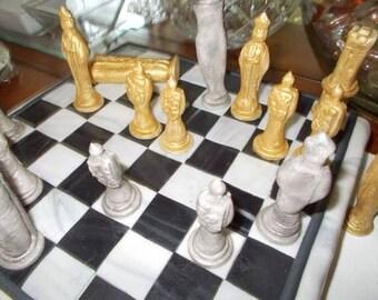 Chess Set Cake Topper