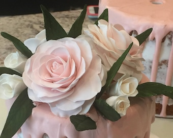Rose Flowers for Cake Decorating
