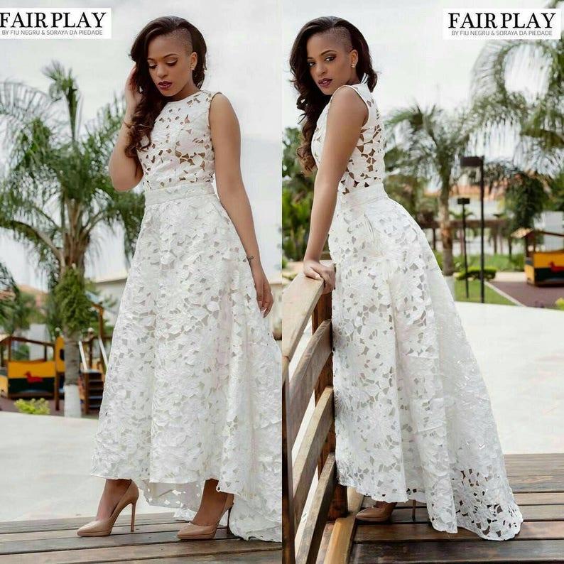 0d6036f6b1f African women s clothing lace dress wedding dress