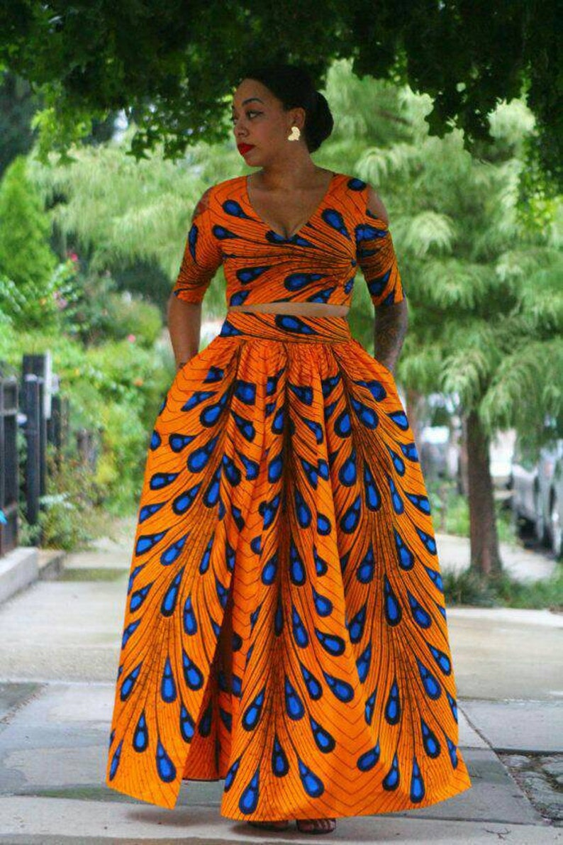 Femmes Habiller Dashiki Ankara Jupe Africaines Etetsy Tenue Cxbdreo KJFTl1c