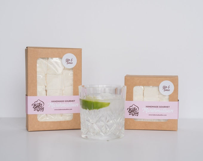 Gin & Tonic Handmade Marshmallows