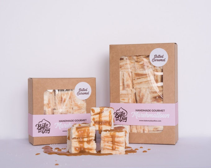 Salted Caramel Handmade Marshmallows
