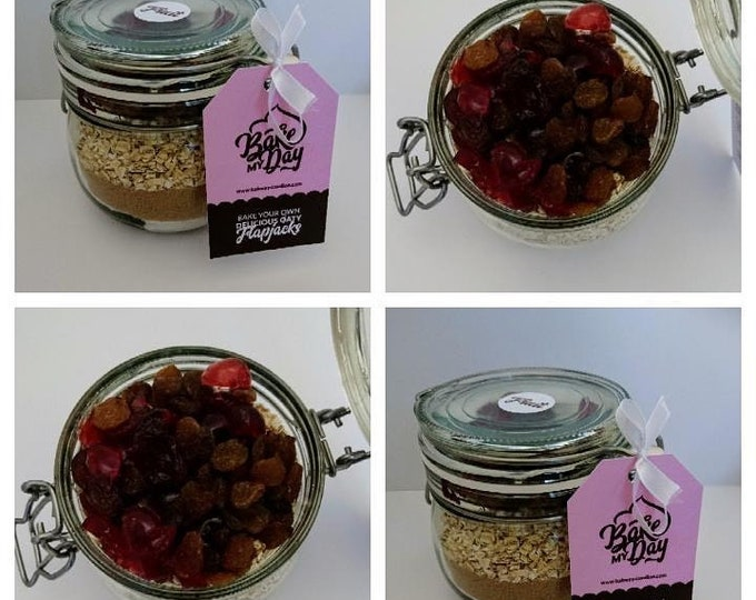 Delicious Oaty Flapjack Baking Mix Jar