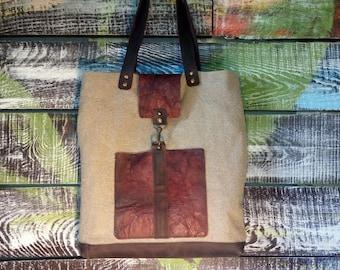 Linen fabric  bag, tote, flax bag, beach bag, shopping bag, Linen boho bag, summer bag, cotton, shopping bag, linen tote bag rustic bag