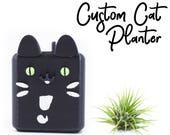 Custom Cat Planter for Su...