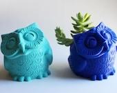 Owl Pot  / Owl Pen Holder...