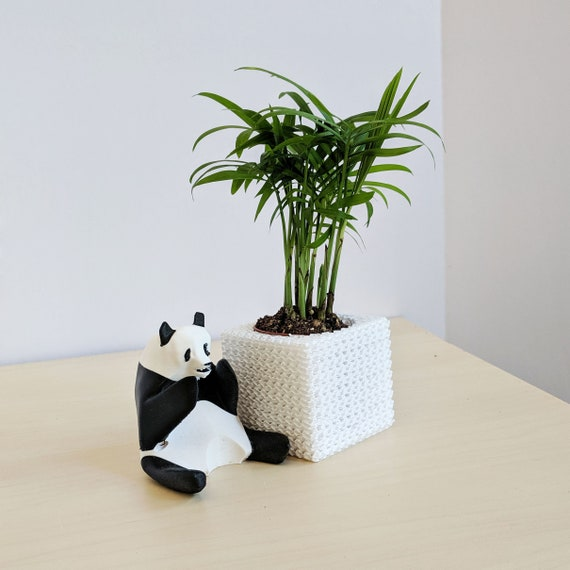 Panda jardinage jeu Topper - outil de jardin mignon - outil de jardin Panda  - jardin bûcher Art