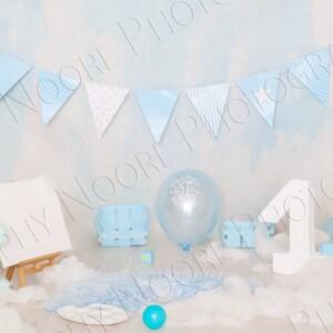 baby birthday photo download Baby digital backdrop Digital Backdrop birthday birthday