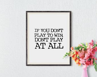 Arte imprimible, inspiracional, oficina Arte Deco, arte de pared, Poster motivacional, decoración de la pared, pared arte imprime, descarga instantánea
