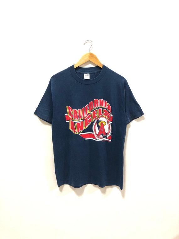 Vintage 90s!! California Angels MLB tshirts Big lo