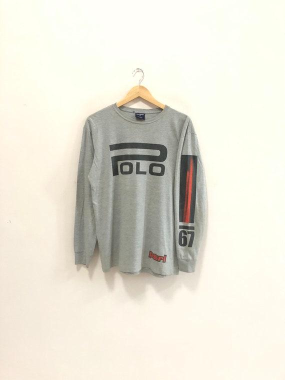 Vintage 90s Polo Ralph Lauren Longsleeve Tshirts P