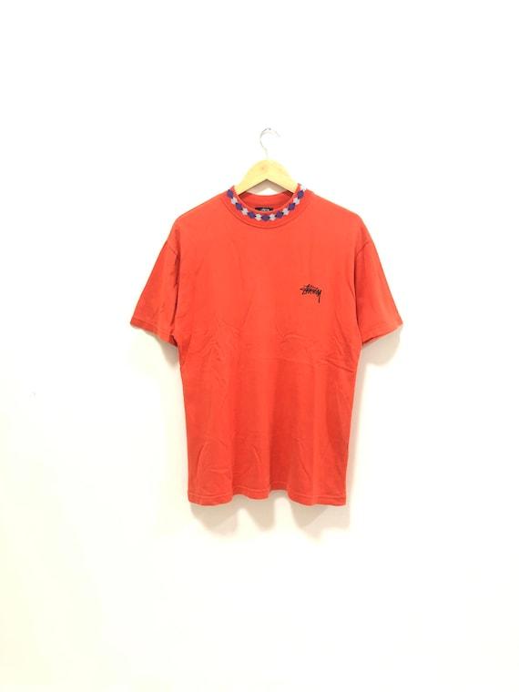 Vintage 90s Stussy Mock Turtle tshirts Stussy Tee
